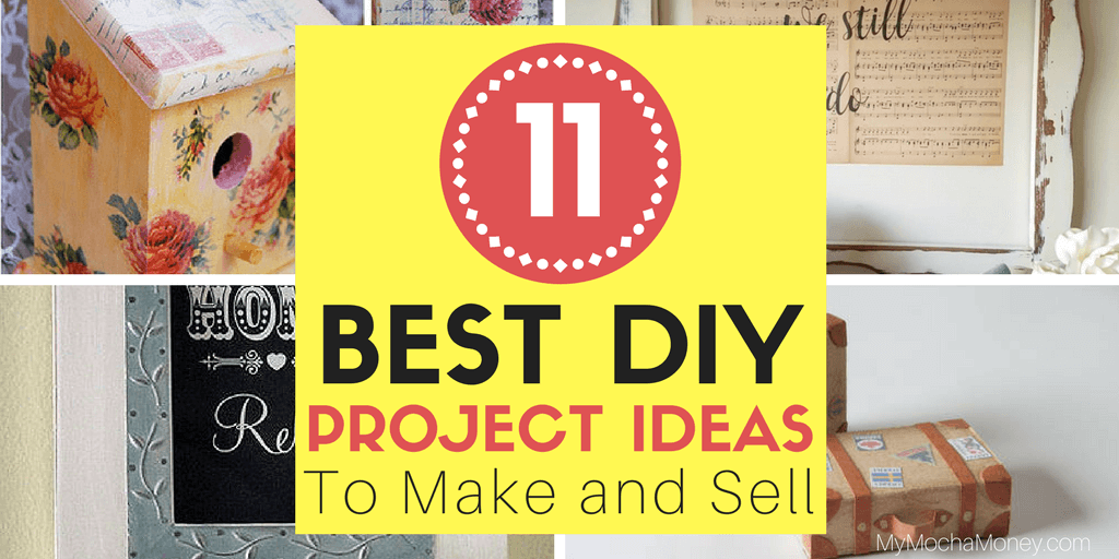 11 creative diy project ideas to make and sell great part for Diy project ideas to sell